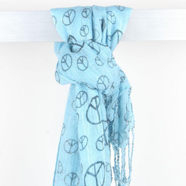 peace scarves